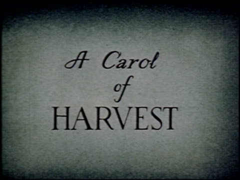 a carol of harvest - 1 of 10 - see other clips from this shoot 2070 stock videos & royalty-free footage