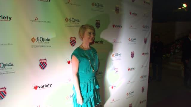 Caroline Carver at the 6th Annual KSwiss Desert Smash at La Quinta CA