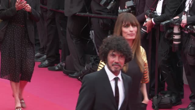 caroline de maigret at 'the dead don't die' red carpet arrivals opening ceremony the 72nd cannes film festival on may 14 2019 in cannes france - the dead don't die 2019 film stock videos and b-roll footage