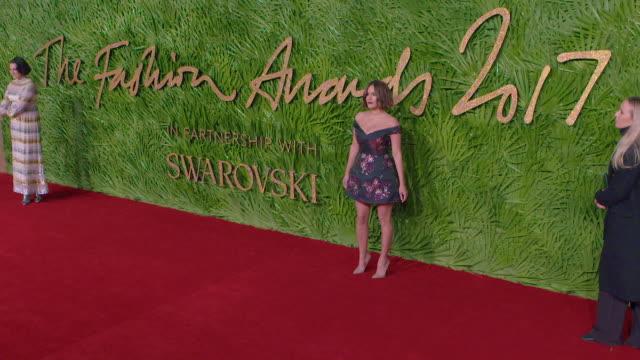 Caroline Flack at The Fashion Awards 2017 at Royal Albert Hall on December 04 2017 in London England