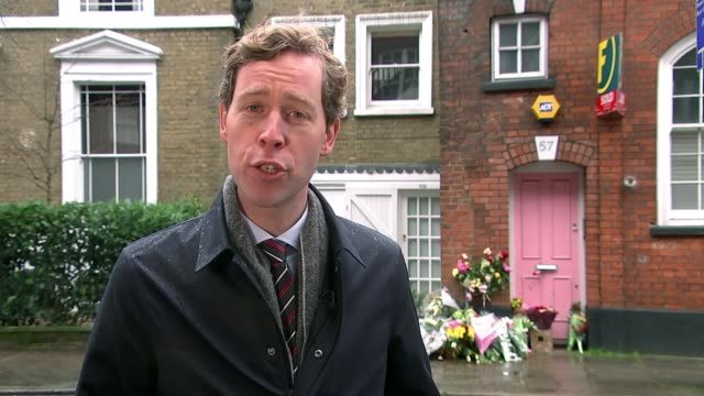 inquest opens into death england london ext reporter to camera sot - inquest stock videos & royalty-free footage