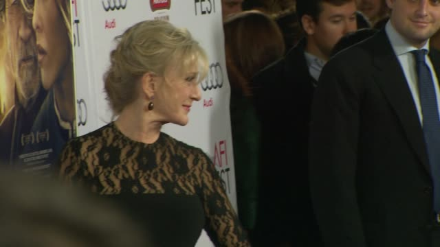 """caroline lagerfelt at afi fest 2014 presented by audi - """"the homesman"""" premiere at dolby theatre on november 11, 2014 in hollywood, california. - the dolby theatre stock videos & royalty-free footage"""