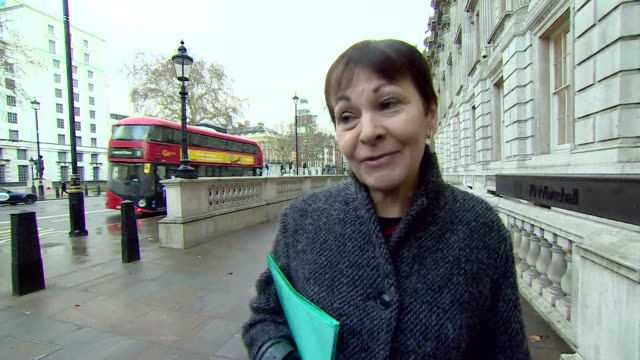 vídeos de stock e filmes b-roll de caroline lucas says she wishes that theresa may had asked for help with brexit of politicians from other parties 'much earlier on' 17th january 2019 - data