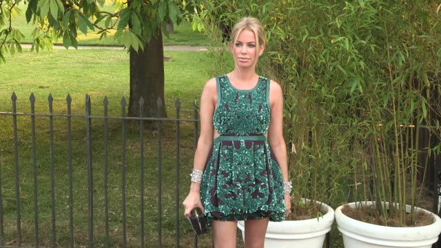 caroline stanbury arriving for the summer party at the serpentine gallery on june 26 2013 in london england - the serpentine gallery stock videos & royalty-free footage