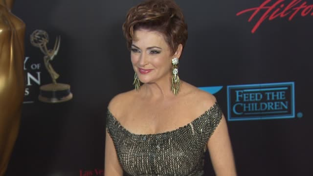 carolyn hennesy at the 37th annual daytime emmy awards at las vegas nv - annual daytime emmy awards stock videos & royalty-free footage