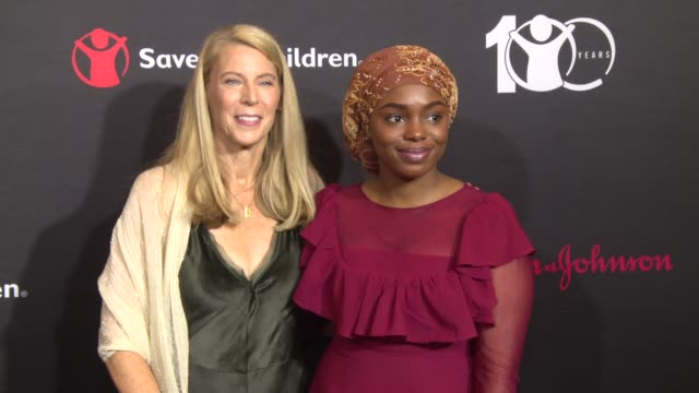 interview carolyn miles on why it is so important to focus on making the world a better place for kids today at save the children's centennial gala... - save the children stock videos & royalty-free footage