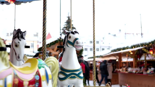 Carousel at the Chrismas market
