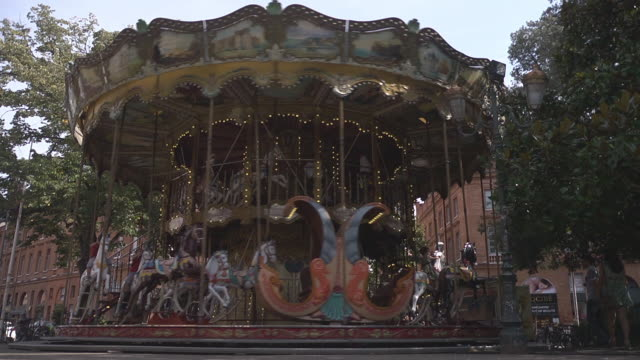 carousel - toulouse stock videos & royalty-free footage