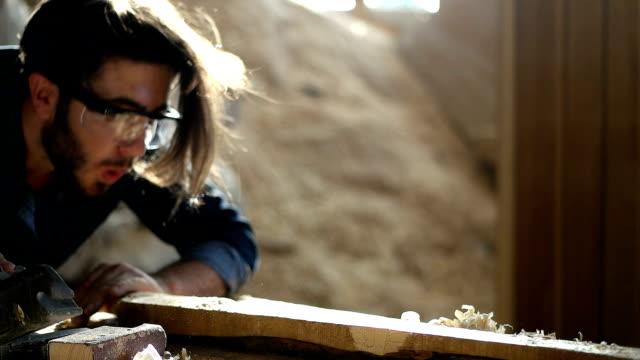 carpenter at work - craft stock videos & royalty-free footage