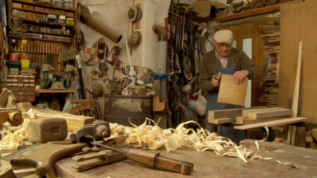 HD DOLLY: Carpenter In His Workshop