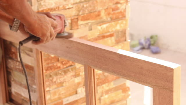 carpenter working - realisticfilm stock videos and b-roll footage