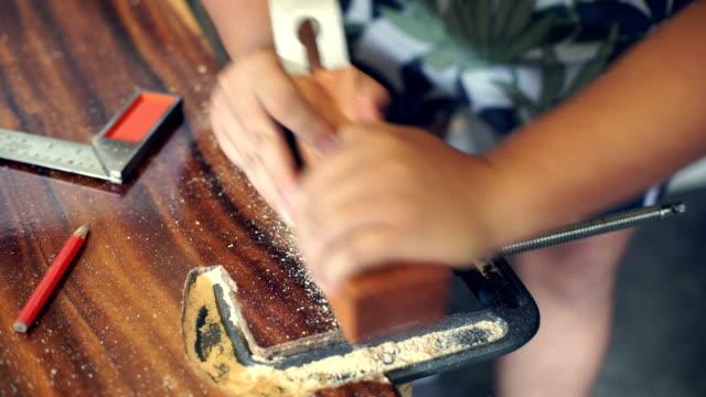 carpenter working - human limb stock videos and b-roll footage