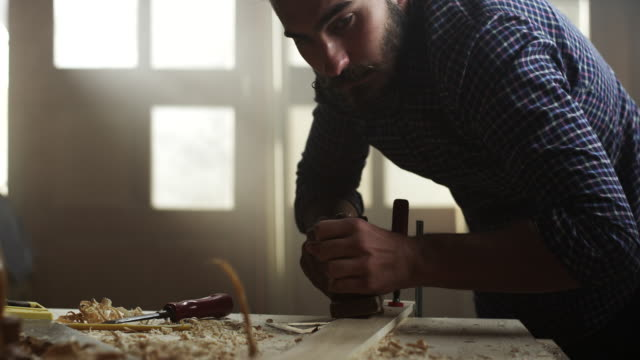 carpenter working - young men stock videos & royalty-free footage