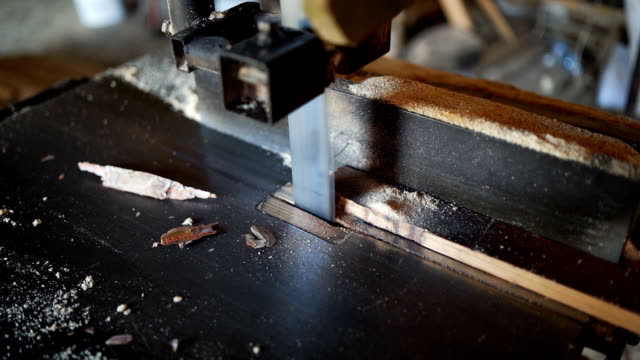 carpenters cutting wooden plank - work tool stock videos & royalty-free footage