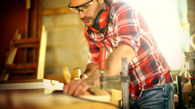 carpentry work. - craftsperson stock videos and b-roll footage