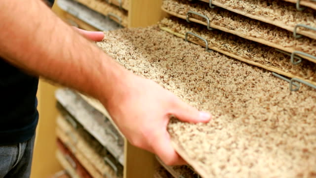 carpet flooring department. - carpet stock videos & royalty-free footage