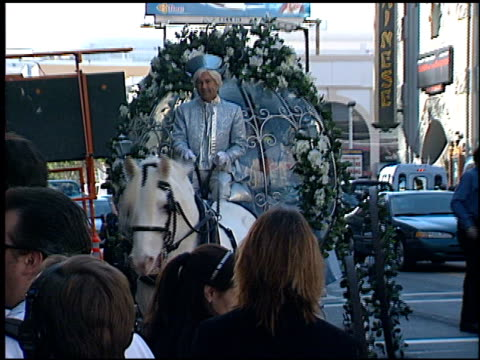 carriage at the 'cinderella ii' premiere at the el capitan theatre in hollywood, california on february 23, 2002. - el capitan theatre stock videos & royalty-free footage