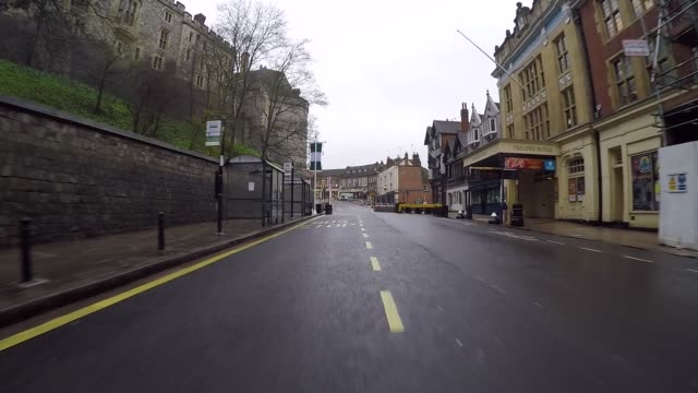 carriage procession route that prince harry and meghan markle will take once married the couple will travel from st george's chapel and return to... - carriage stock videos & royalty-free footage