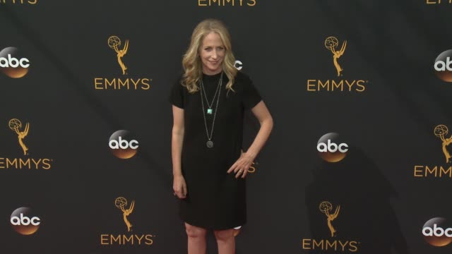 carrie aizley at 68th annual primetime emmy awards - arrivals in los angeles, ca 9/18/16 - annual primetime emmy awards stock videos & royalty-free footage