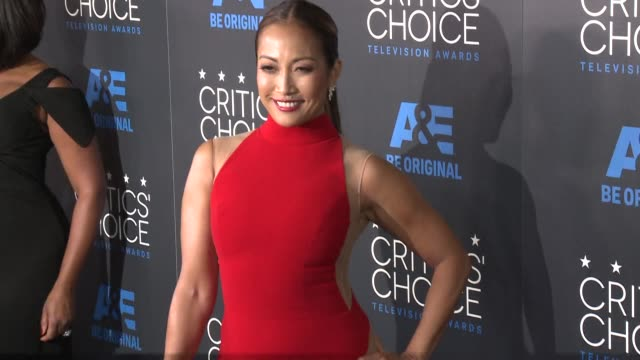 carrie ann inaba at the 2015 critics' choice television awards at the beverly hilton hotel on may 31, 2015 in beverly hills, california. - 放送テレビ批評家協会賞点の映像素材/bロール