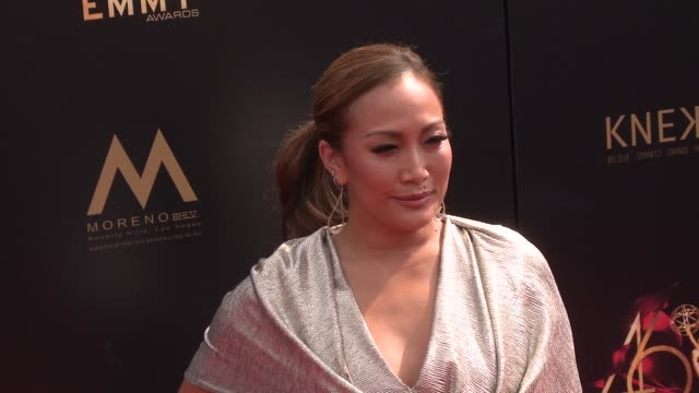 carrie ann inaba at the 2019 daytime emmy awards at pasadena civic center on may 05 2019 in pasadena california - daytime emmy preisverleihung stock-videos und b-roll-filmmaterial