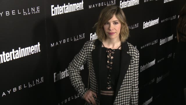 carrie brownstein at 2016 entertainment weekly screen actors guild party at chateau marmont on january 29 2016 in los angeles california - entertainment weekly stock-videos und b-roll-filmmaterial