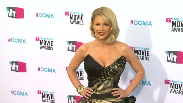 Carrie Keagan at 17th Annual Critics' Choice Movie Awards on 1/12/12 in Hollywood CA