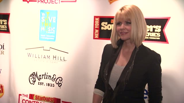 carrie keagan at the starburst presents songwriters music series to benefit the vh1 save the music foundation with matthew morrison at new york ny - vh1 bildbanksvideor och videomaterial från bakom kulisserna