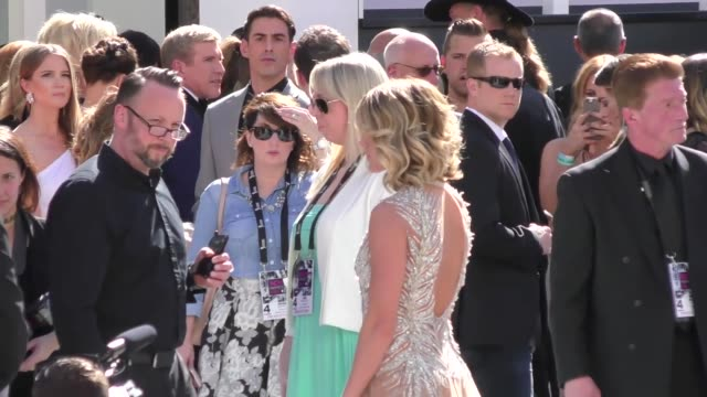 carrie underwood arriving to the 52nd academy of country music awards in celebrity sightings in las vegas - academy of country music awards stock videos & royalty-free footage