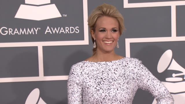 Carrie Underwood at 54th Annual GRAMMY Awards Arrivals on 2/12/12 in Los Angeles CA