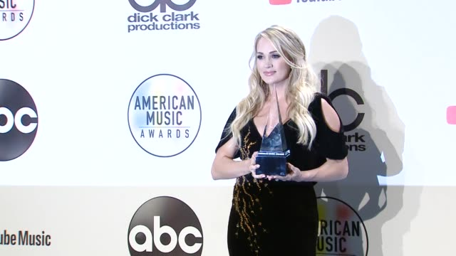 Carrie Underwood at the 2018 American Music Awards at Microsoft Theater on October 09 2018 in Los Angeles California