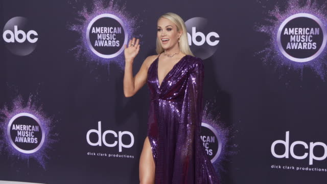 vidéos et rushes de carrie underwood at the 2019 american music awards at microsoft theater on november 24 2019 in los angeles california - american music awards
