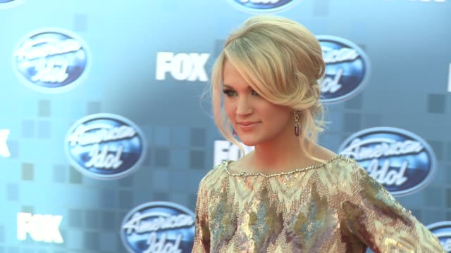 Carrie Underwood at the Fox's 'American Idol 2011' Finale Results Show at Los Angeles CA
