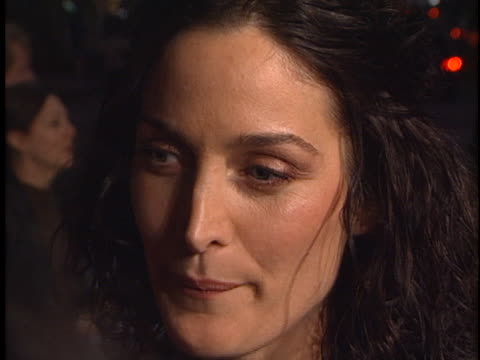 CarrieAnne Moss at the Red Planet Premiere at Westwood in Westwood CA
