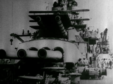 illustration carrier mot 1920s ms propellers of biplane ws us battleship w/ biplane aircraft on top aircraft taking off from battleship 'runway'... - warship stock videos & royalty-free footage