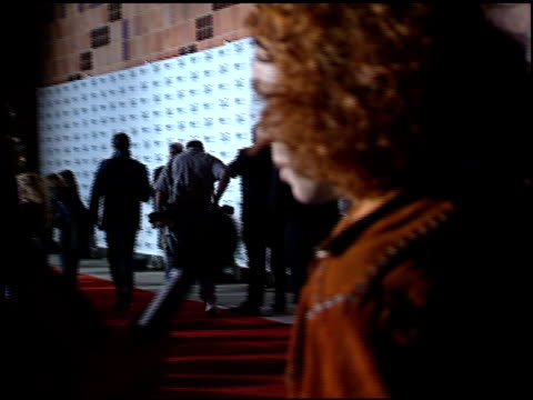 vídeos y material grabado en eventos de stock de carrot top at the ''n syncbigger than live' premiere at imax theater california science center in los angeles california on march 30 2001 - carrot top