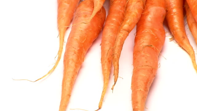 carrots - vitamin a nutrient stock videos and b-roll footage