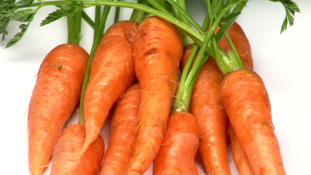 carrots - vitamin a nutrient stock videos & royalty-free footage