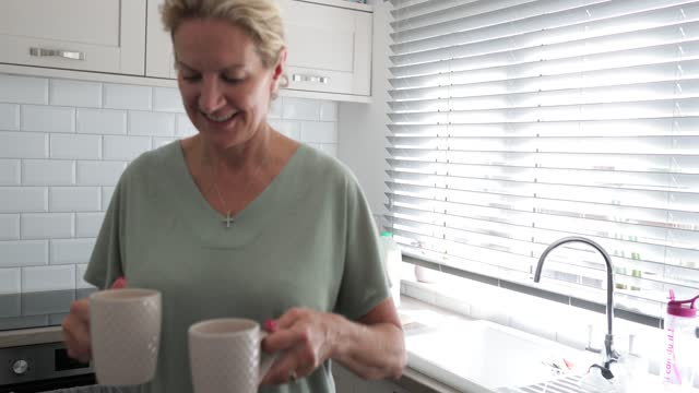 carrying the tea's in - preparation stock videos & royalty-free footage