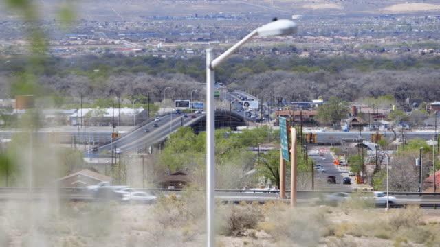 Cars drive on highway roads in Pima County, Arizona