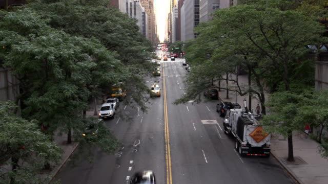 Cars On 42nd Street Manhattan New York City