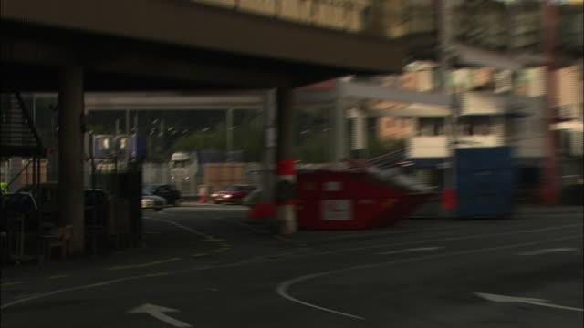 cars wait to board a ferry in gothenburg, sweden. - fähre stock-videos und b-roll-filmmaterial