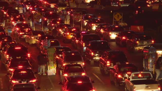 Cars Waiting at the US-Mexico Border