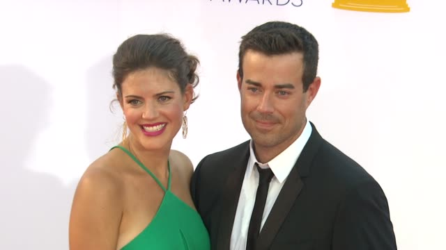 Carson Daly at 64th Primetime Emmy Awards Arrivals on 9/23/12 in Los Angeles CA