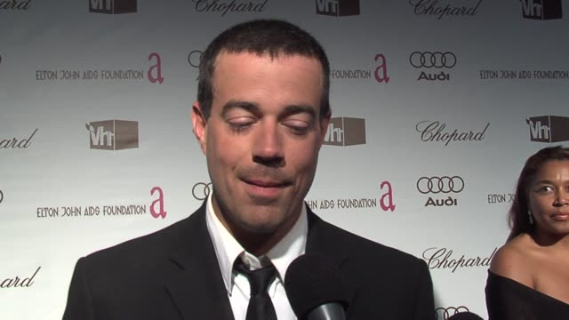 Carson Daly at the 14th Annual Elton John AIDS Foundation Oscar Party Cohosted by Audi Chopard and VH1 at the Pacific Design Center in West Hollywood...