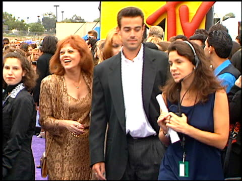 Carson Daly at the 1997 MTV Movie Awards at Barker Hanger in Santa Monica California on June 7 1997