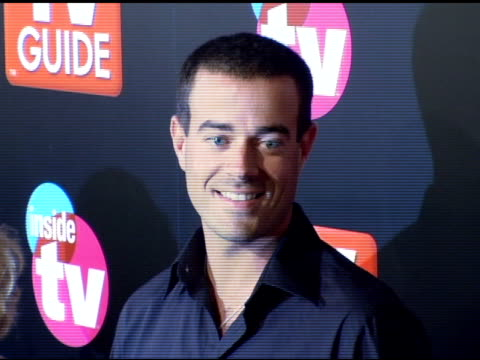 Carson Daly at the 2005 TV Guide and Inside TV Emmy Awards After Party at the Hollywood Roosevelt Hotel in Hollywood California on September 19 2005