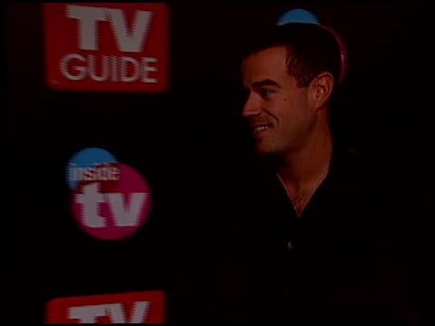 Carson Daly at the 2005 TV Guide Emmy Awards Party at the Hollywood Roosevelt Hotel in Hollywood California on September 18 2005