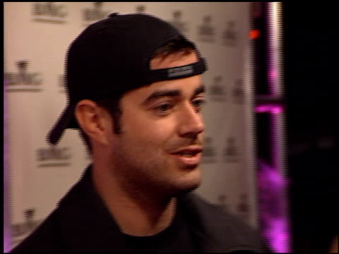 Carson Daly at the BMG Grammy Awards Party on February 23 2000
