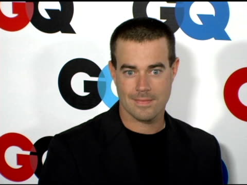 Carson Daly at the GQ's 2005 'Men of the Year' Celebration at Mr Chow Beverly Hills in Beverly Hills California on December 2 2005